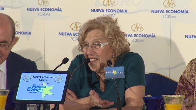 Carmena dice que el 'manifestódromo' es un sinsentido