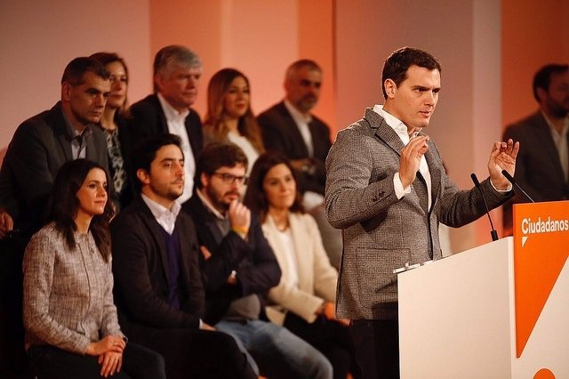Albert Rivera y la nueva Ejecutiva de Ciudadanos