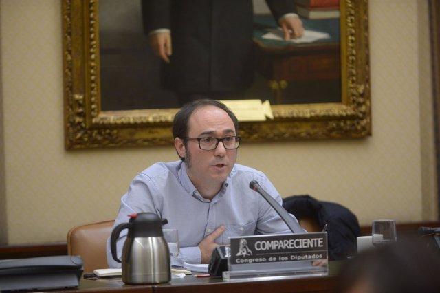 Daniel de Frutos, responsable de Finanzas de Podemos