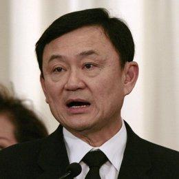 Thaksin Shinawatra ex primer ministro de tailandia
