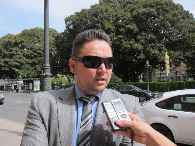 Arturo Tauroni tras salir del TSJCV