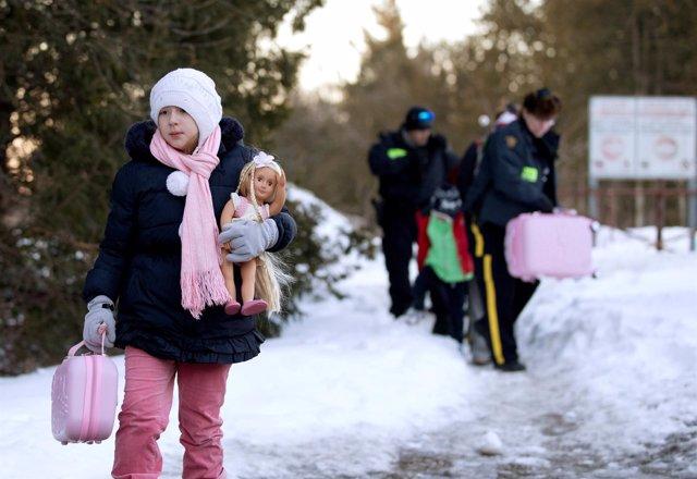 Aumenta el número de solicitantes de asilo que cruza hacia Canadá