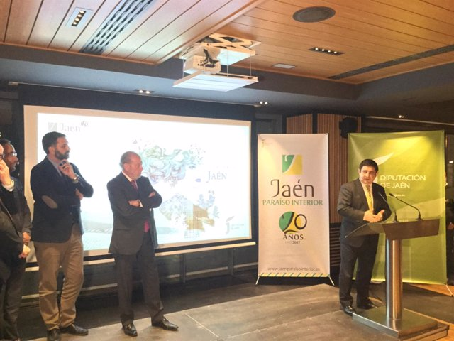 Presentación de 'Jaén, paraíso interior' en Sevilla