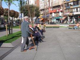 La pensión media de jubilación se sitúa en marzo en 1.123 euros