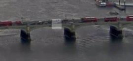 Un vídeo muestra el momento del ataque en Londres y cómo una mujer cae al río Támesis