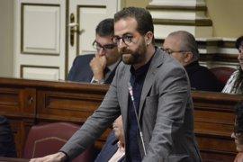 """Podemos critica el """"espectáculo bochornoso"""" de CC, PP y ASG al pactar un bloqueo a la reforma electoral"""