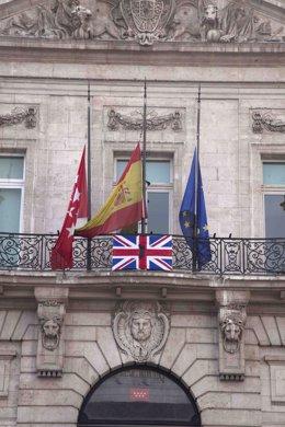 Puerta del Sol homenaje Londres
