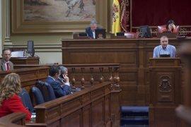 """Campos (NC) critica la """"amenaza"""" de CC, PP y ASG para bloquear la reforma electoral"""
