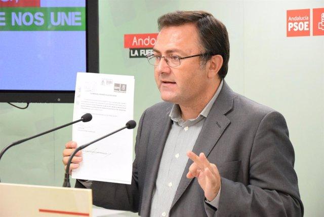 Miguel ángel Heredia PSOE Málaga Congreso número tres portavoz grupo  socialista