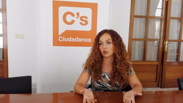 La diputada de Ciudadanos Marta Escrivá