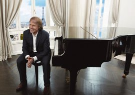 El pianista Richard Clayderman actúa este domingo en el Auditorio de Tenerife