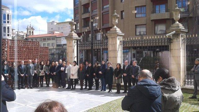 Minuto de silenciao, Parlamento vasco
