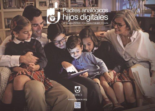 Congreso 'Padres analógicos, hijos digitales'