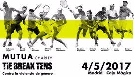 El Mutua Madrid Open apoyará la lucha contra la violencia de género con el Mutua Charity Tie Break Tens