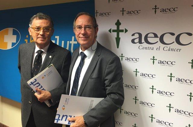 Fuster firma un convenio con AECC