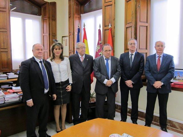 Rubira, Galdana, García, Orihuela, Bravo y Florit