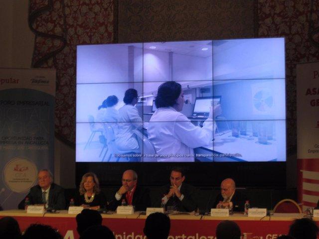 ASAMBLEA de la CEA Empresarios Andalucía 2017 gonzález de Lara