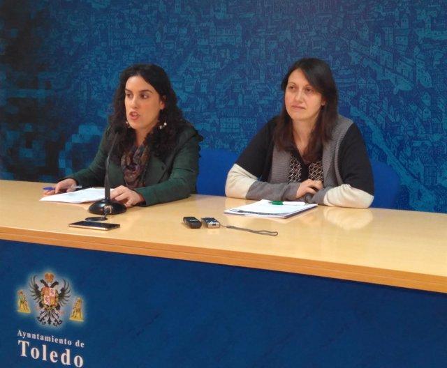 Inés Sandoval y Eva Jiménez, Ayuntamiento de Toledo