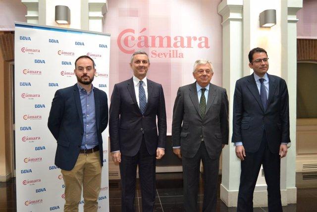 Juan Carlos Plaza, José Ballester, Francisco Herrero y Miguel Cardoso.