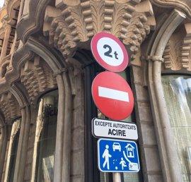 ARCA apuesta por disminuir el impacto negativo de la señalización viaria del centro histórico de Palma