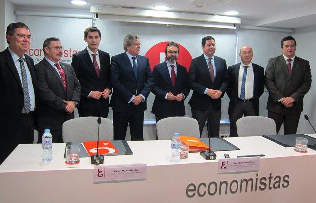 Imagen de la presentación del estudio sobre el puerto intermodal de Cartagena