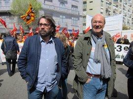 CC.OO. y UGT reclaman mejoras laborales de la patronal y la Generalitat