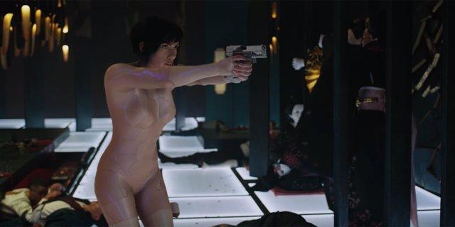 Scarlett Johansson protagoniza Ghost in the Shell