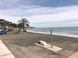 Costas destina 370.000 a reparar daños causados por lluvias y temporal en playas de Málaga capital
