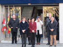 Gobierno vasco, Diputación y Juntas de Gipuzkoa se concentran en San Sebastián para condenar el atentado de Londres