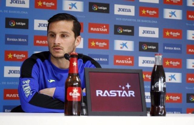 Pablo Piatti, jugador del RCD Espanyol