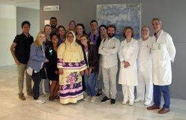 Estudiantes norteamericanos de Salud visitan el Valme para conocer su organización sanitaria