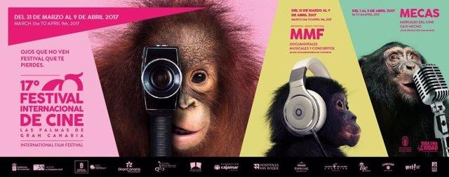 Cartel del Festival de Cine de Las Palmas de Gran Canaria