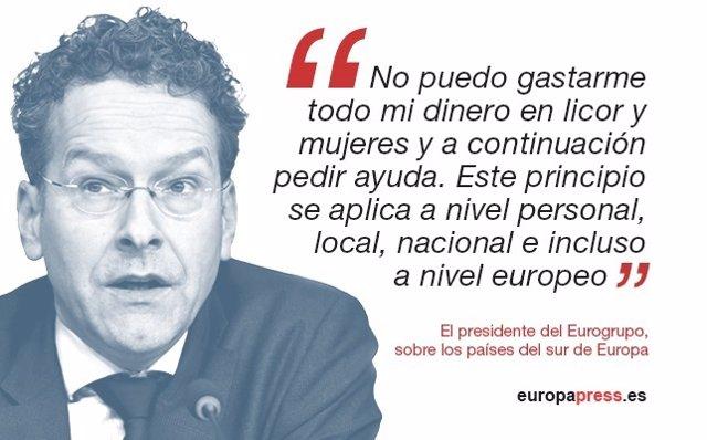 Declaraciones del Presidente del Eurogrupo