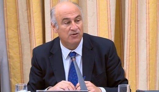 El secretario de Estado de Cultura, Fernando Benzo,  en el Congreso