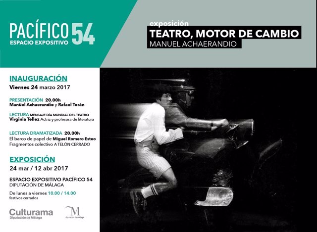 Exposición 'TEatro motor del cambio' en Diputación