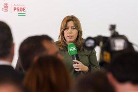 Susana Díaz comunica este viernes a la Ejecutiva del PSOE-A que concurrirá a las primarias