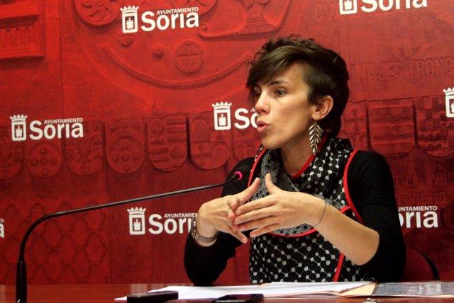 La concejal Inés Andrés