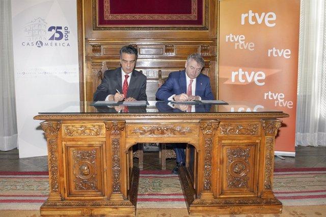 José Antonio Sánchez y Santiago Miralles