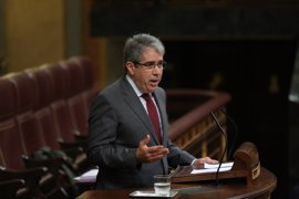 El Supremo comunica al Congreso la sentencia que inhabilita a Homs a un año y un mes