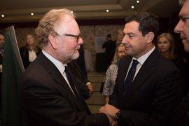 Moreno traslada el pésame del PP-A al cónsul de Reino Unido por los fallecidos en el atentado de Londres