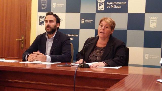 PSOE María del Carmen Moreno Daniel Pérez