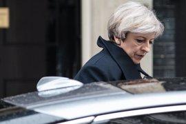 May visita en el hospital a las víctimas del atentado de Londres