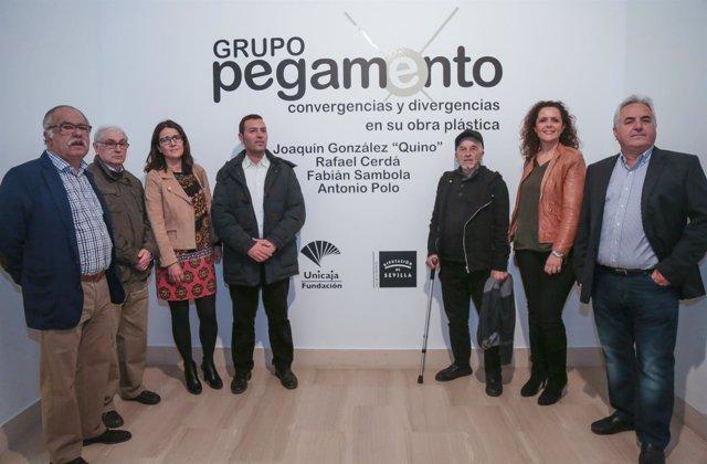 Fundación Unicaja expone obras del Grupo Pegamento