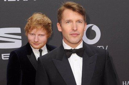 James Blunt afirma que Ed Sheeran le está enseñando a escribir canciones