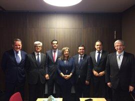Las siete zonas francas de España, entre ellas la de Santander, quiere impulsar un espacio de trabajo conjunto
