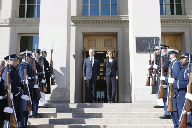 Cospedal con James Mattis en Washington
