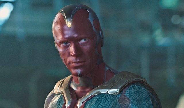 Vision en Capitán América Civil War