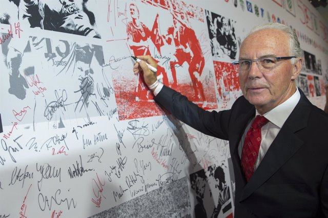 El exfutbolista alemán Franz Beckenbauer,