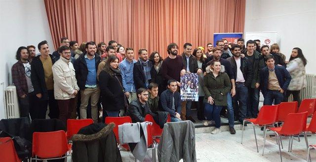 Presentación de la red de voluntarios socialistas con Susana Díaz