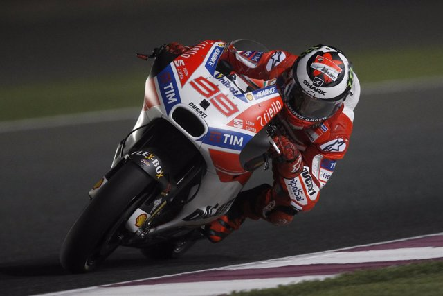 El piloto español de MotoGP Jorge Lorenzo (Ducati)